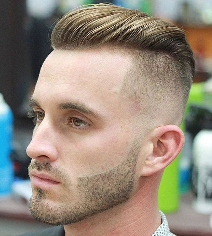style of hair cut modern slick back fade undercut 5288