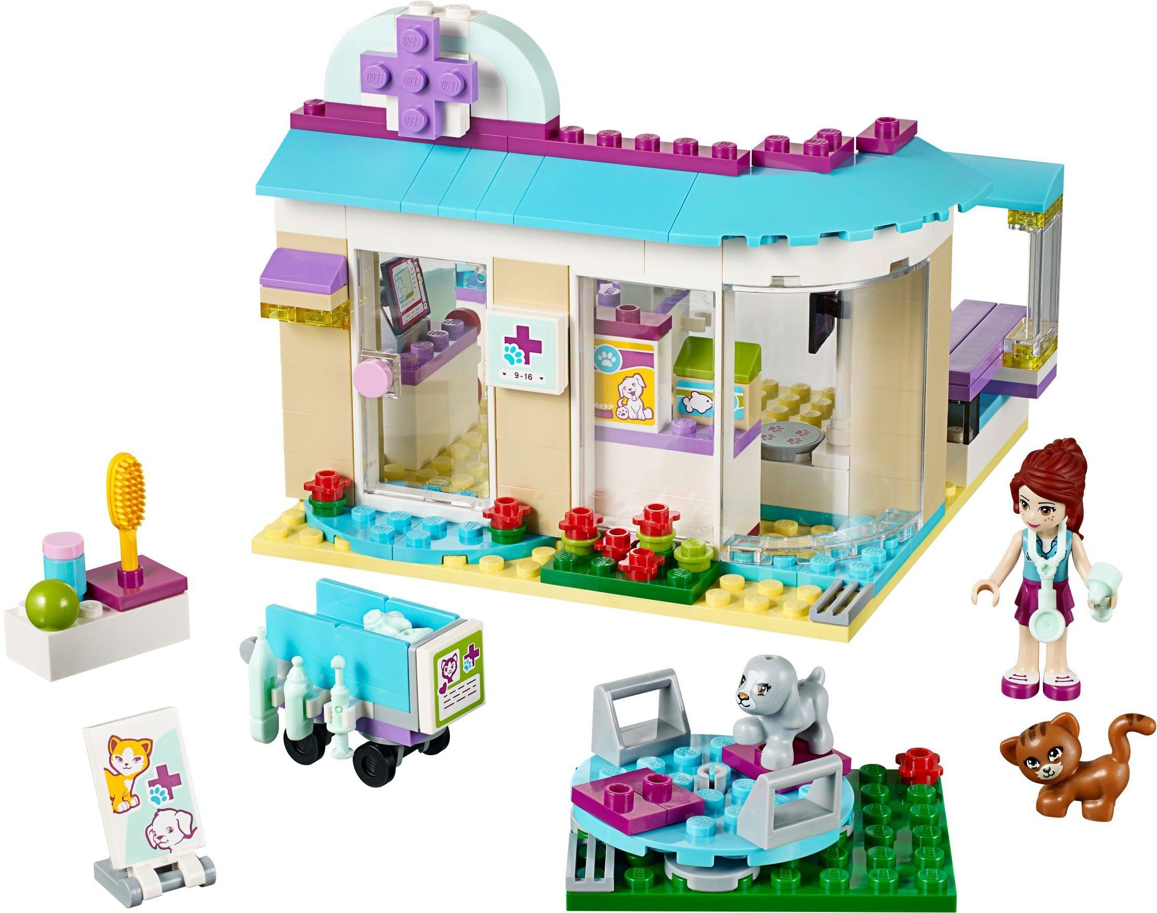 41085 1 Vet Clinic Lego Friends Lego Friends Sets Lego Animals