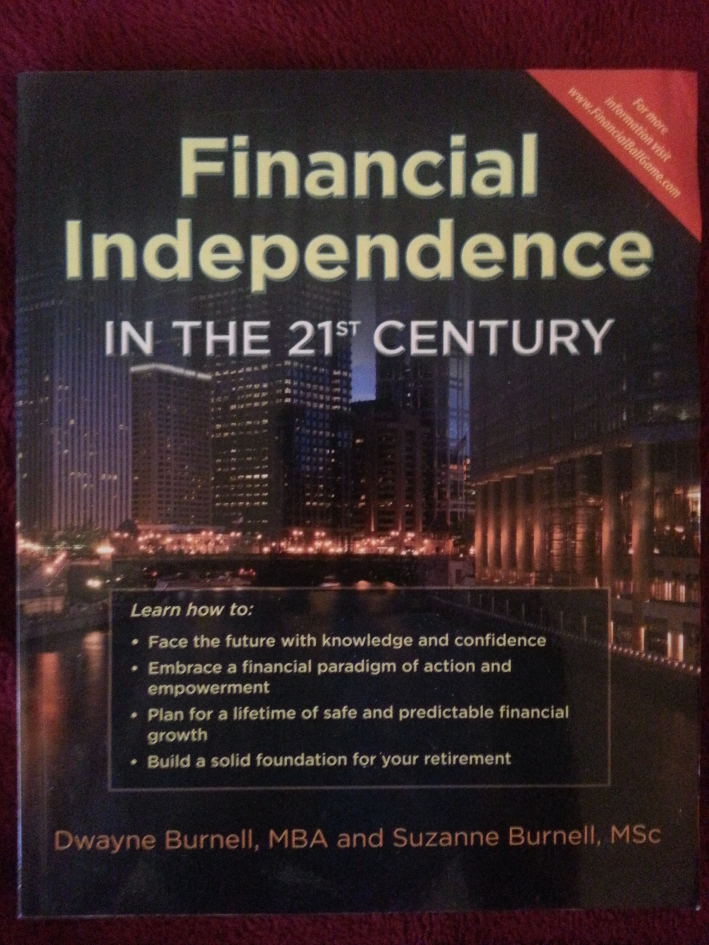 Financial independence in the 21st century financial