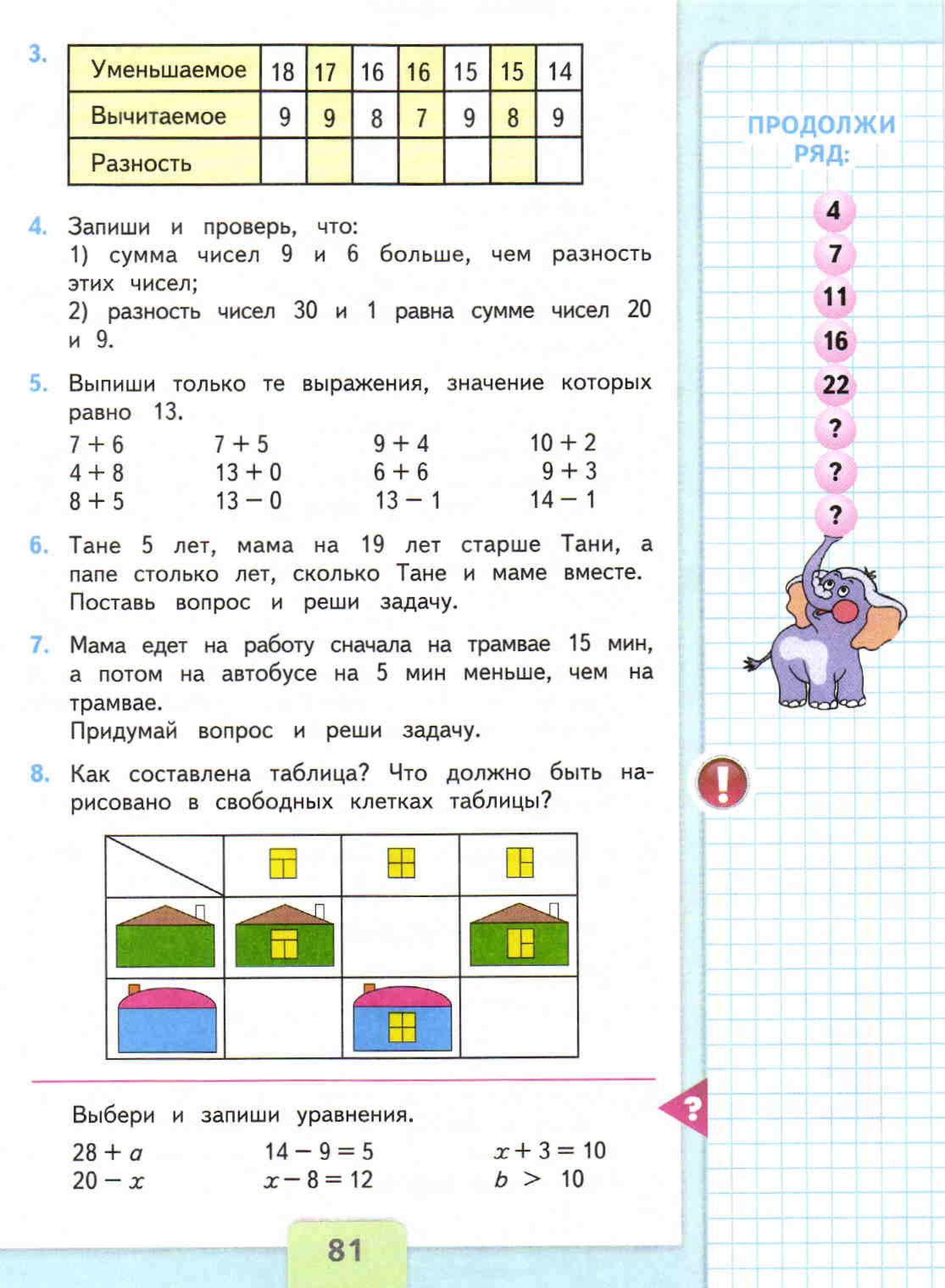 Решебник 2 класса по математике моро 1 часть.