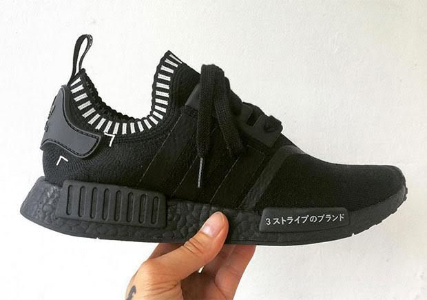 Adidas NMD is back, this time in a Black White Japan design. The Japanese