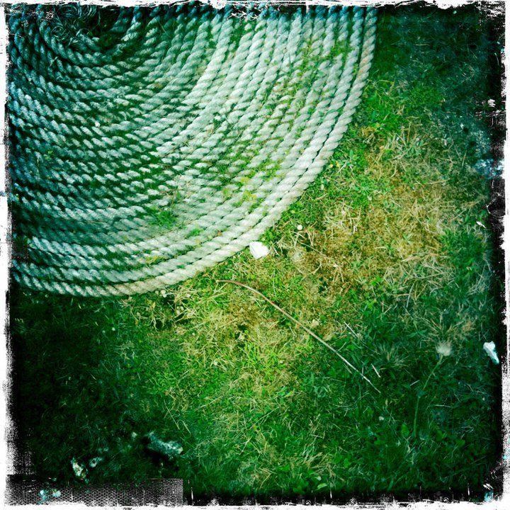 Rope in Sjauster #Gotland #Sweden