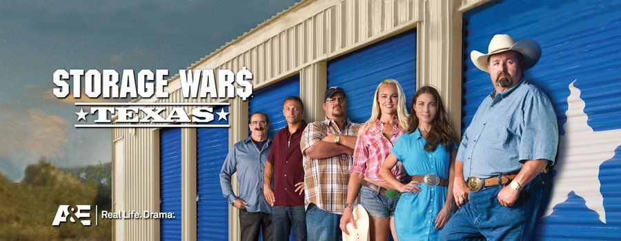 Storage Wars TV Show   storage wars texas in season three of storage wars texas the rangers ...