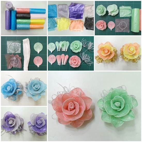 How to make roses from garbage bags roses diy diy ideas diy crafts how to make roses from garbage bags roses diy diy ideas diy crafts do it yourself solutioingenieria Choice Image