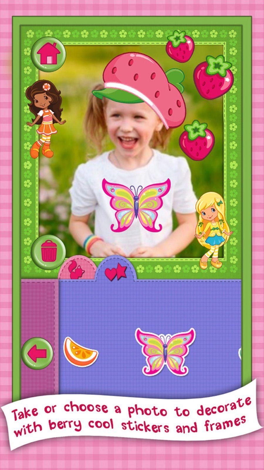 Strawberry Shortcake Card Maker Dress Up Fashion