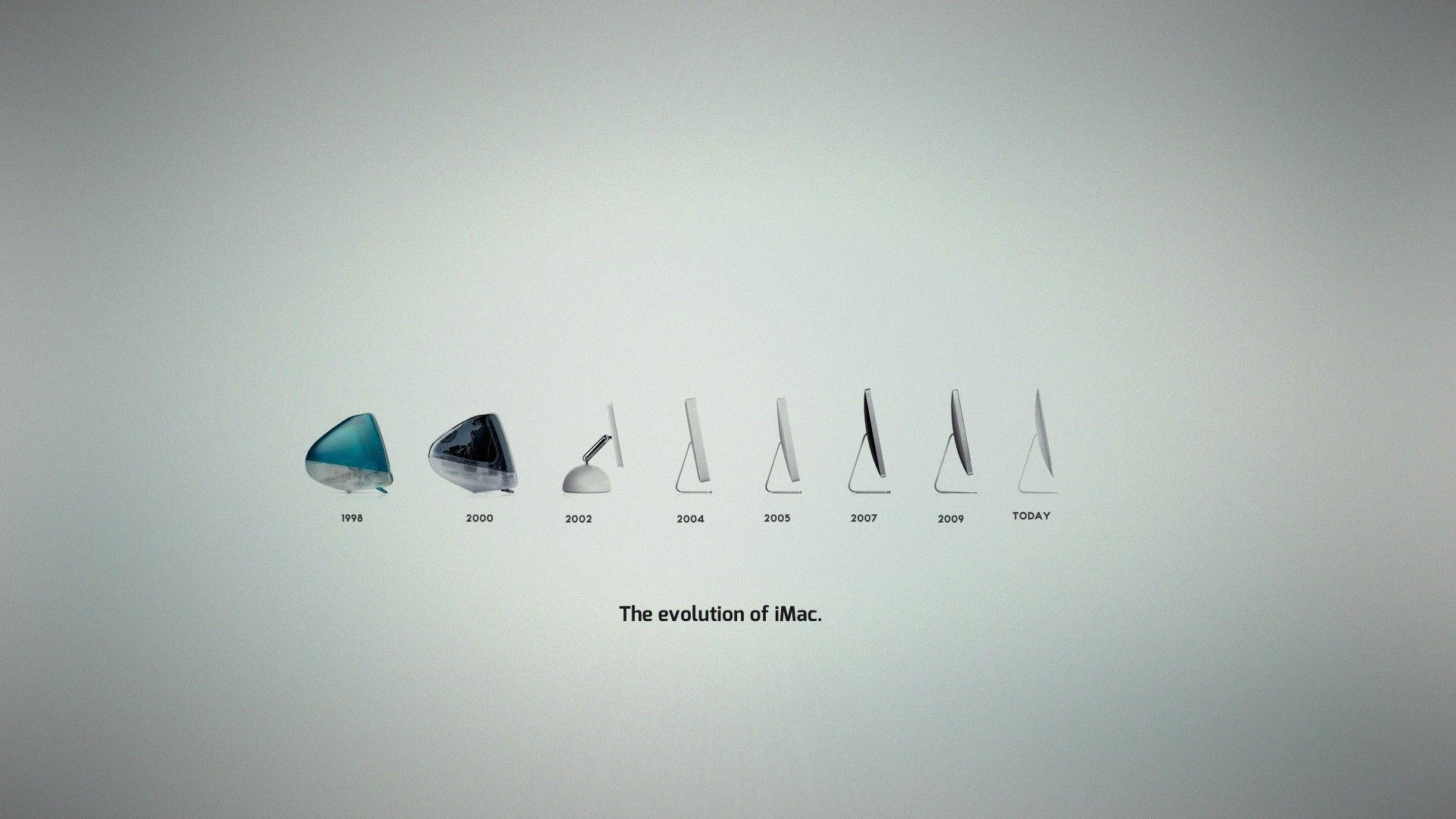 the evolution of imac   Minimalism . Tech   Pinterest