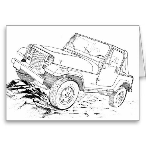 Jeep Wrangler Yj Jeep Yj Jeep Drawing Jeep Art
