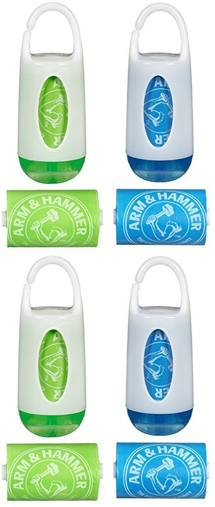 Munchkin Arm And Hammer Diaper Bag Dispenser Green Blue 2 Pack