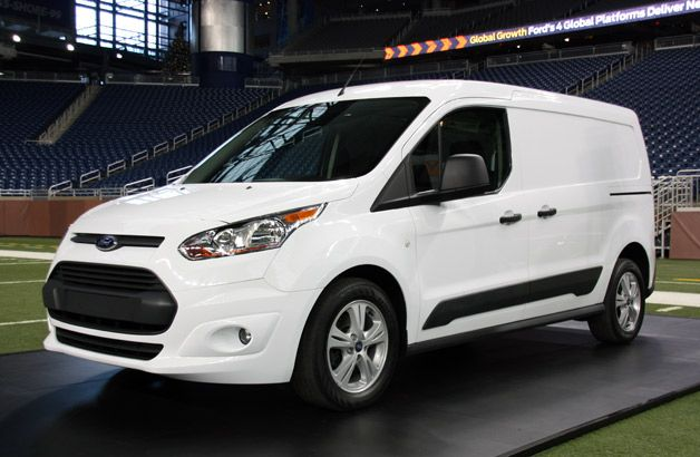 Ford Shows Off Commercial Version Of New Transit Connect Ford