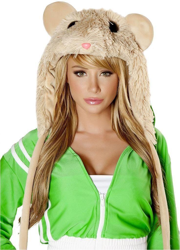 54342ae1b86 Amazon.com  DJ Hamster Hood  Clothing