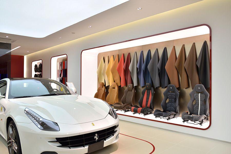 Ferrari Showroom, Yokohama, Japan project by Simona