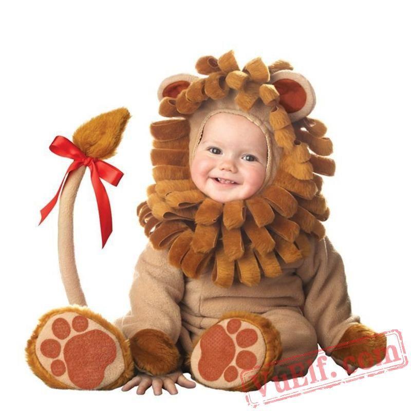 3f4be8051 Halloween Lion Baby Onesie Pajamas - Baby Kigurumi Onesies | Baby ...