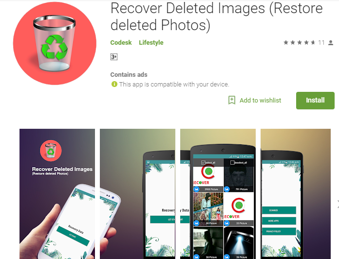 Best Android App To Recover Images Back To Your Mobile Phone I