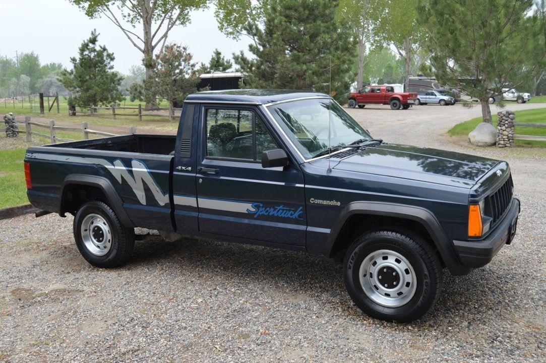 Automobile Finds 1991 Jeep Comanche SPORT 4x4 Rare Truck