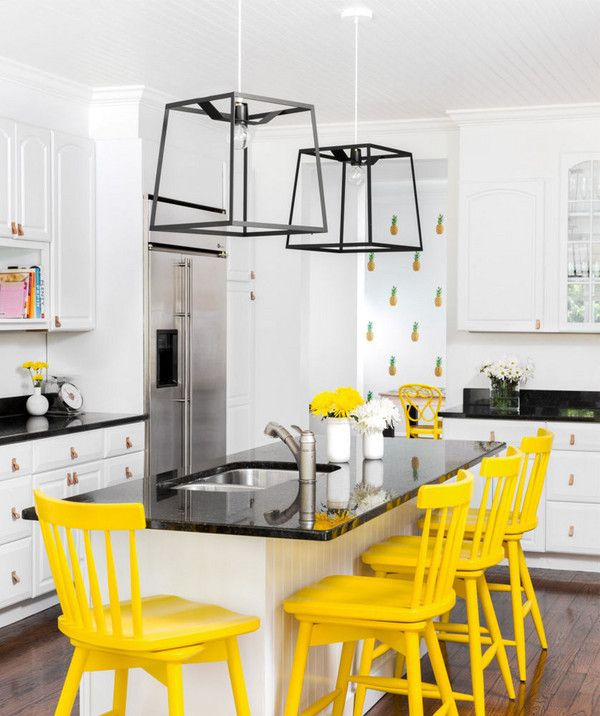 The Trending Paint Colors Of 2018 Eclectic Kitchen Kitchen Trends