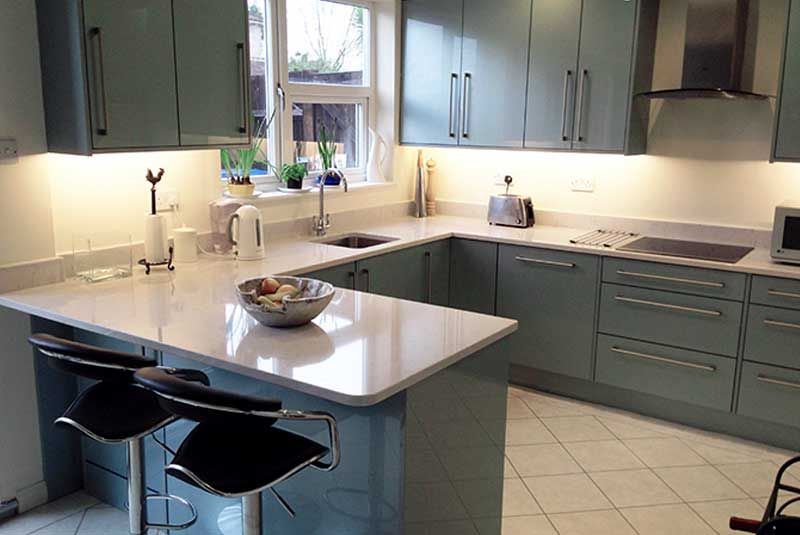Innova küchen ~ An innova altino petrol blue kitchen diy kitchens