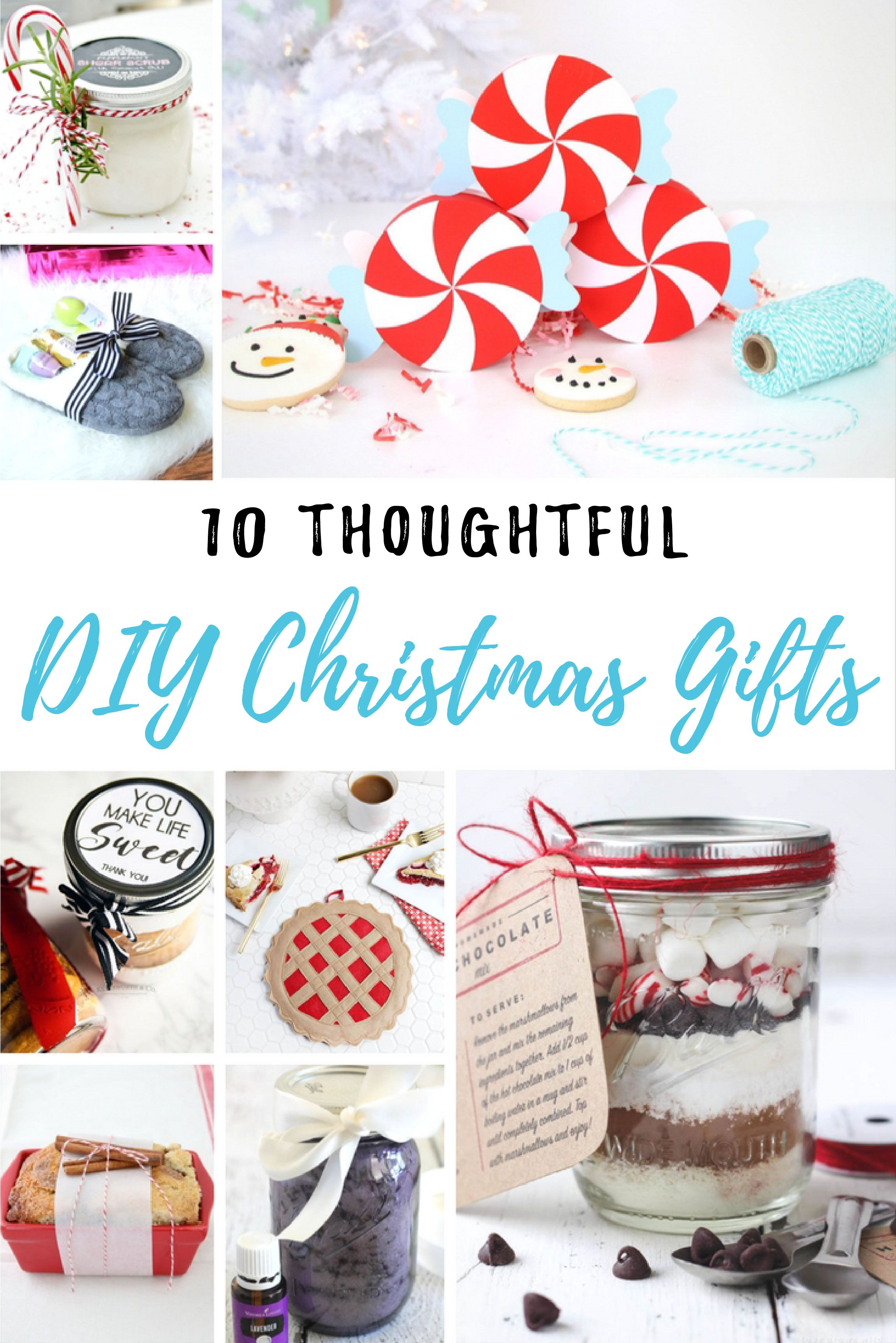 10 Thoughtful DIY Christmas Gifts | Christmas Crafts & Gift Ideas ...