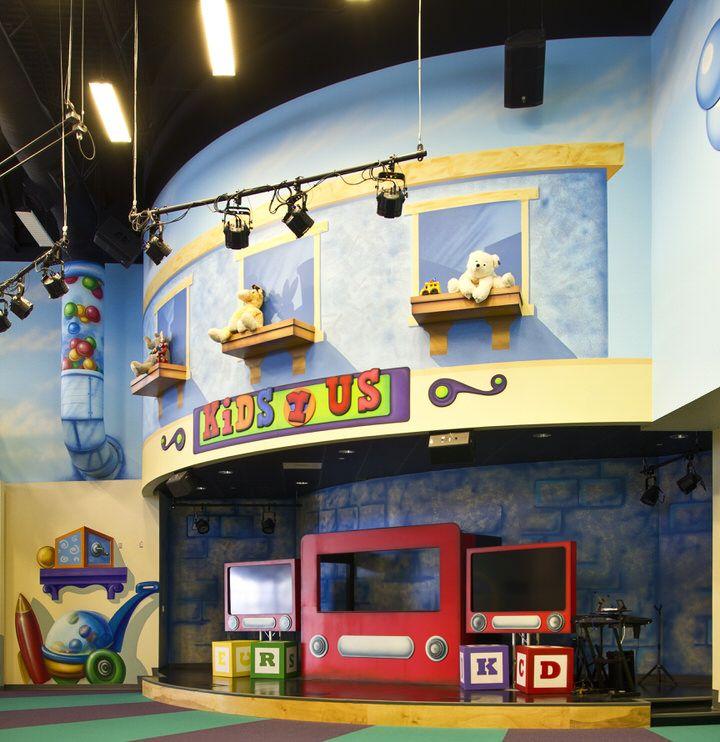 children's church stage design | Children's Ministry Theme ...