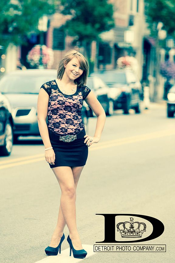 Cute :) Book us! #photo #photography #detroit #cute #senior #pic #seniorpictures #seniorpics #fancy #skirt #heels #Michigan