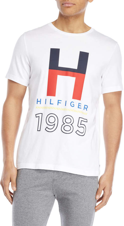 13ca5796b Tommy Hilfiger Graphic Logo Sleepwear Tee in 2019 | Products | Tommy ...