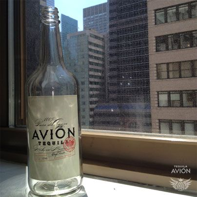 The tequila avi n bottle from entourage entourage for Avion tequila mixed drinks