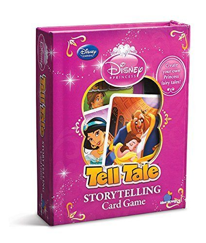 Now every girl can be a princess in the story of her own making! Create your own happily ever after with Tell Tale, a storytelling game with 100 detailed illustrations that will ignite your imagination.  Take turns spinning unique tales together based on these colorful images from the world of Disney Princess. #ShelburneCountryStore - Tell Tale #DisneyPrincess Game, $14.95 (http://www.shelburnecountrystore.com/tell-tale-disney-princess-game/)