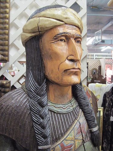 Kawliga Was A Wooden Indian Wild For Wood Cigar Store Indian