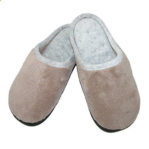 1ef99c7e4 totes ISOTONER Womens Microterry Wide Width Clog Slippers