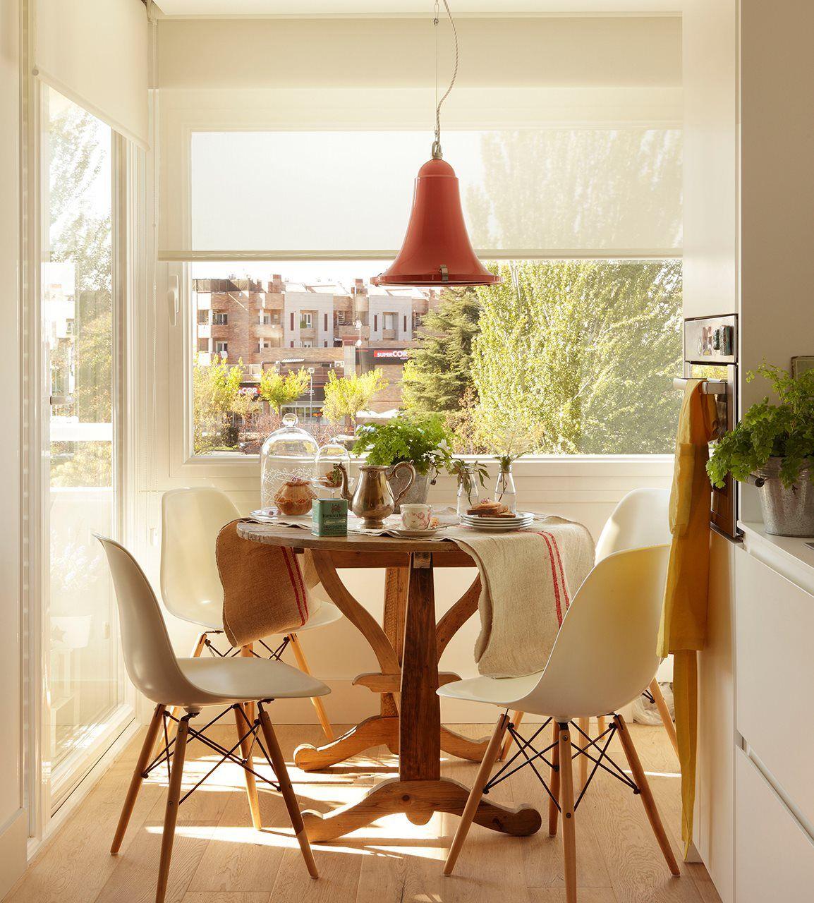 Cómo aprovechar el espacio en cocinas pequeñas | Detalles hogar ...