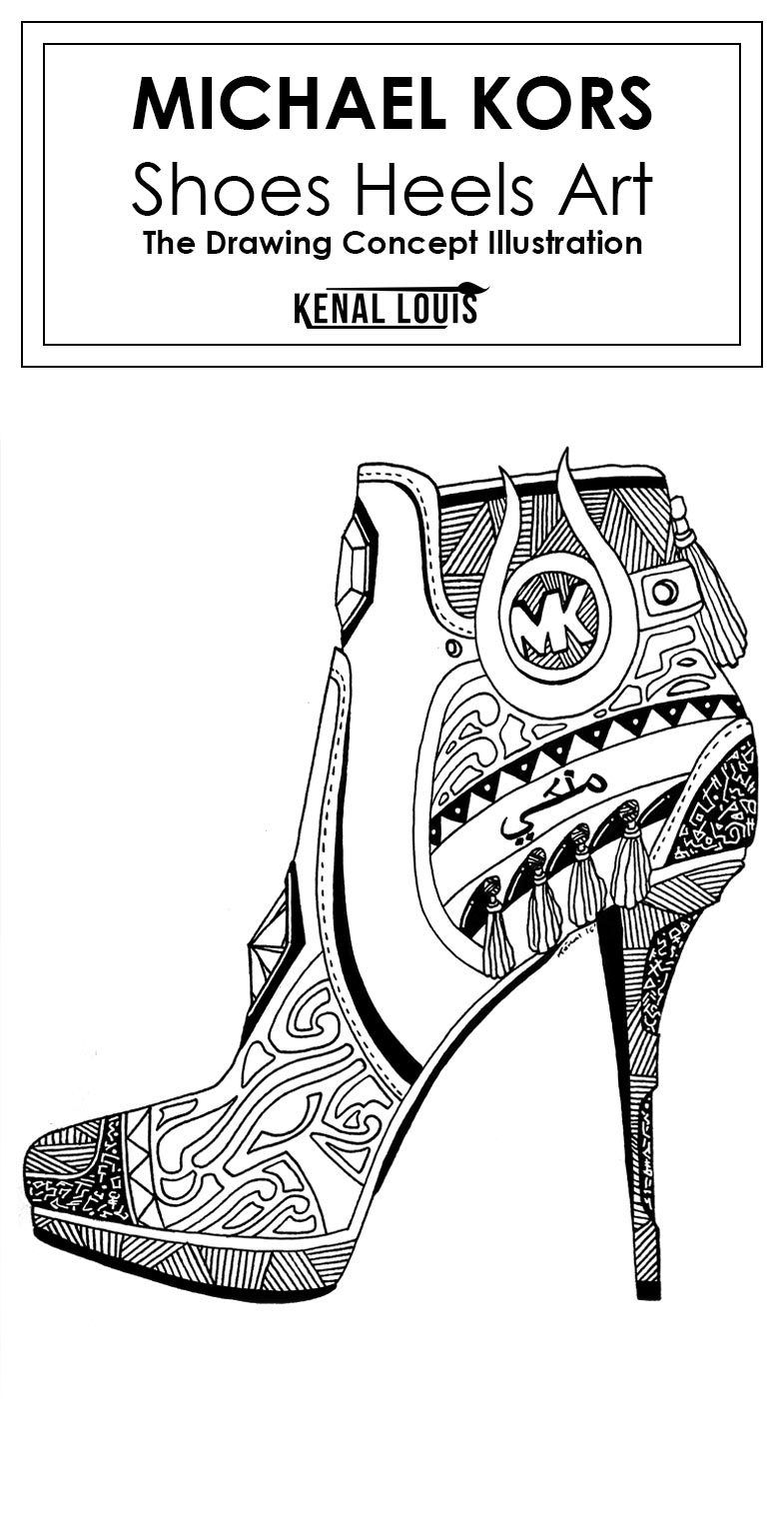 The most unique Michael Kors shoes heels art collection you'll want to be  real