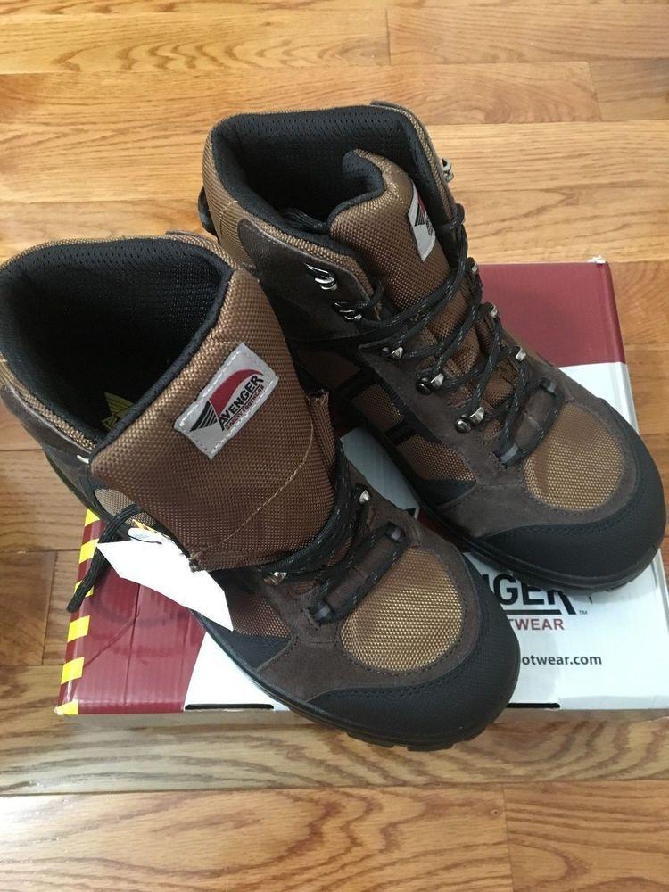 e4c047a81a9 Avenger Men's Electrical Hazard Hiking Boot - Steel Toe - A7241 ...