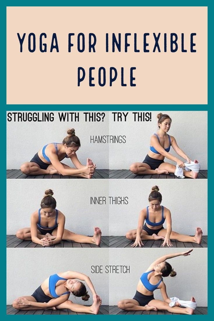 Yoga for inflexible people -  Yoga for inflexible people Click the link for more information. # #Motivation # No equipment #Fat b - #Exercise #inflexible #meditation #people #StudioWorkouts #Yoga #YogaPoses