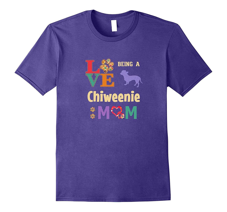 Best Chiweenie Shirt for a Chiweenie Mom #plotthound