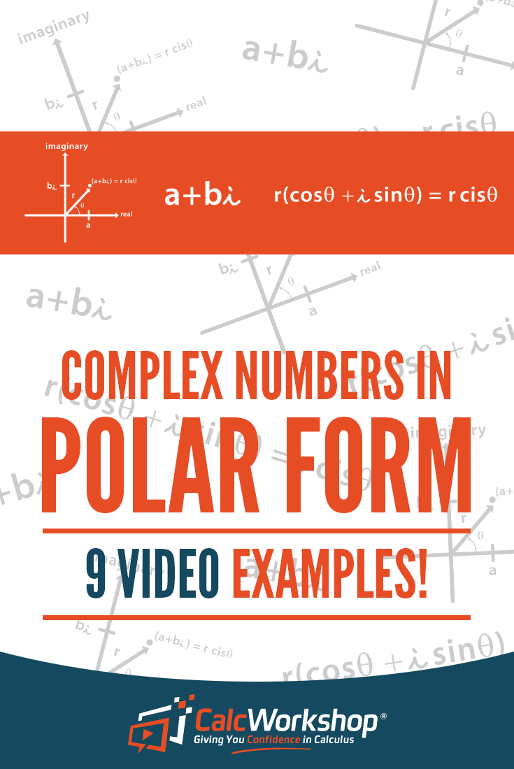 Complex numbers in polar form great video lesson on converting complex numbers in polar form great video lesson on converting and transforming from standard form into polar form with 9 examples youll have falaconquin