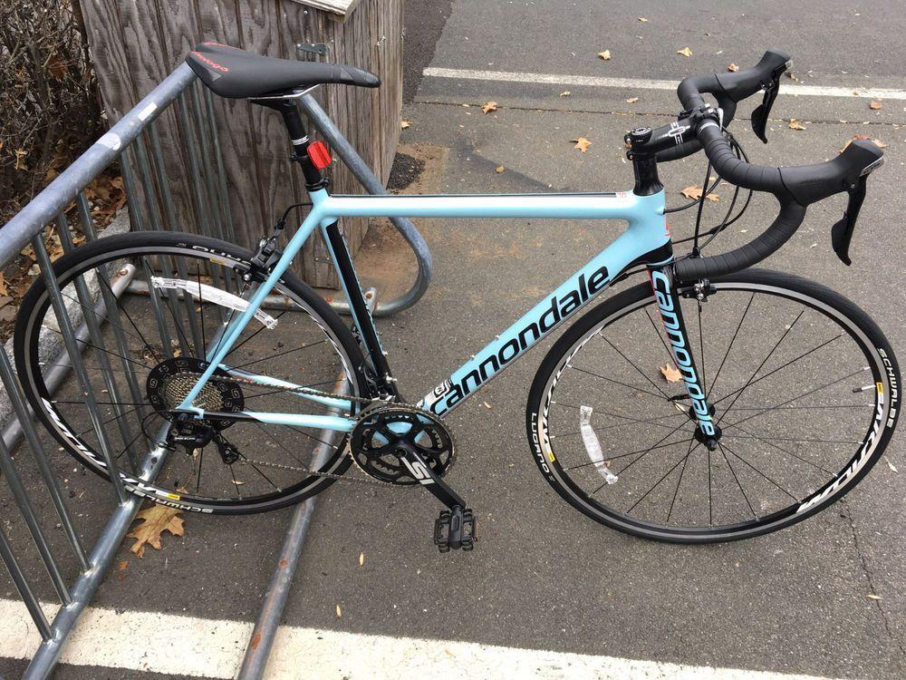 2017 Cannondale Supersix Evo Carbon 105 52cm Men S Road Bike Road Bikes Men Cannondale Bike