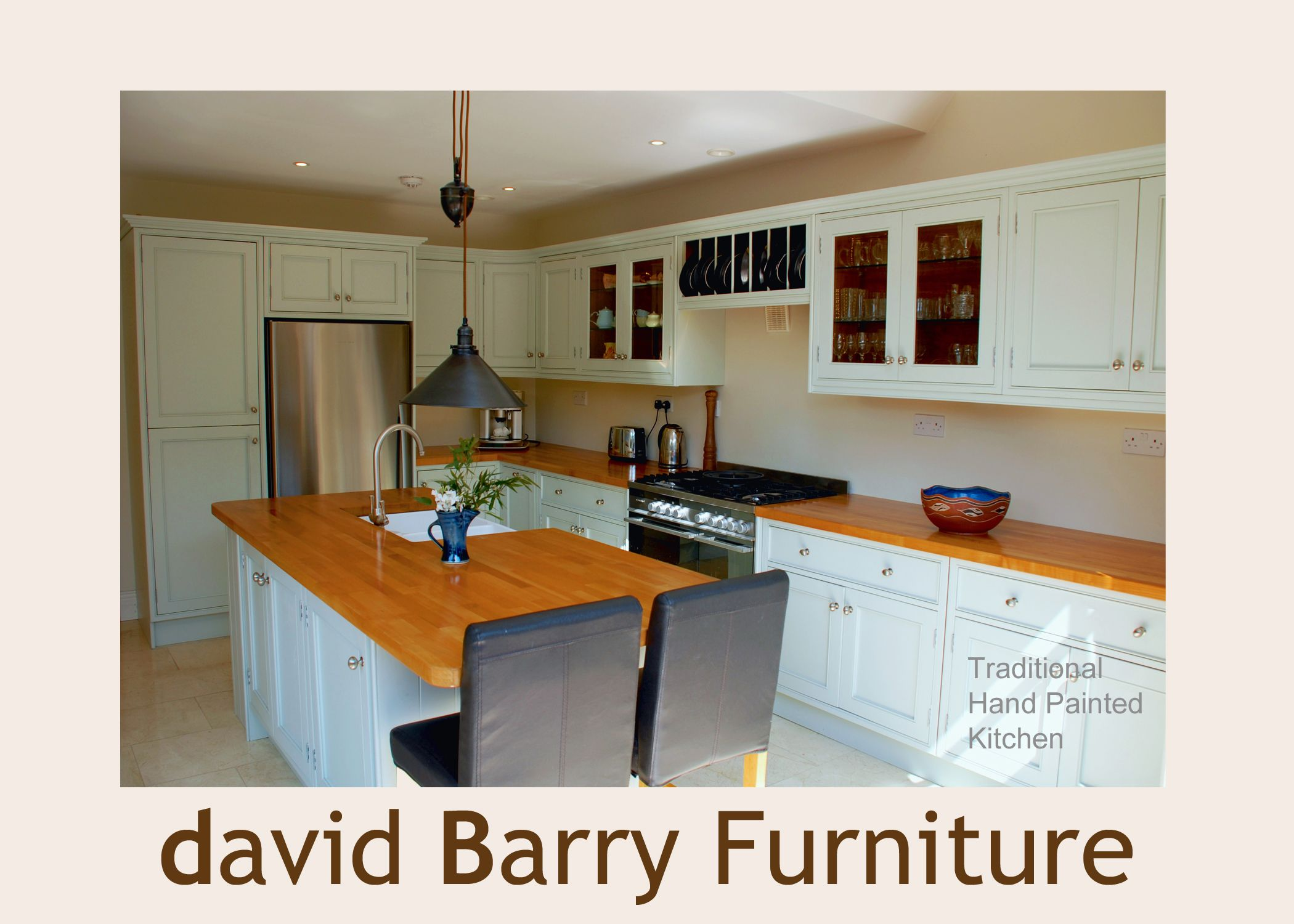 Traditional functional special carved kitchen