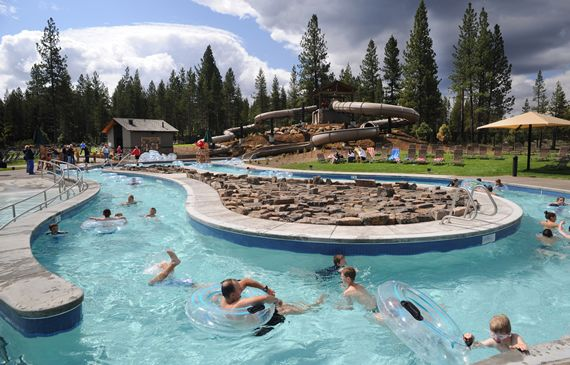 The Sharc Aquatic Center In Sunriver Oregon Travel