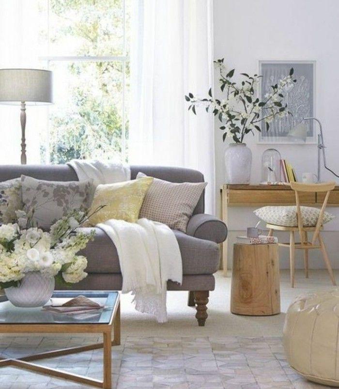 Déco salon gris - 88 super idées pleines de charme | Salons ...