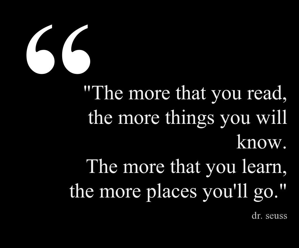 Famous quote from all time great author Dr. Seuss This quote courtesy of @Pinstamatic (http://pinstamatic.com)