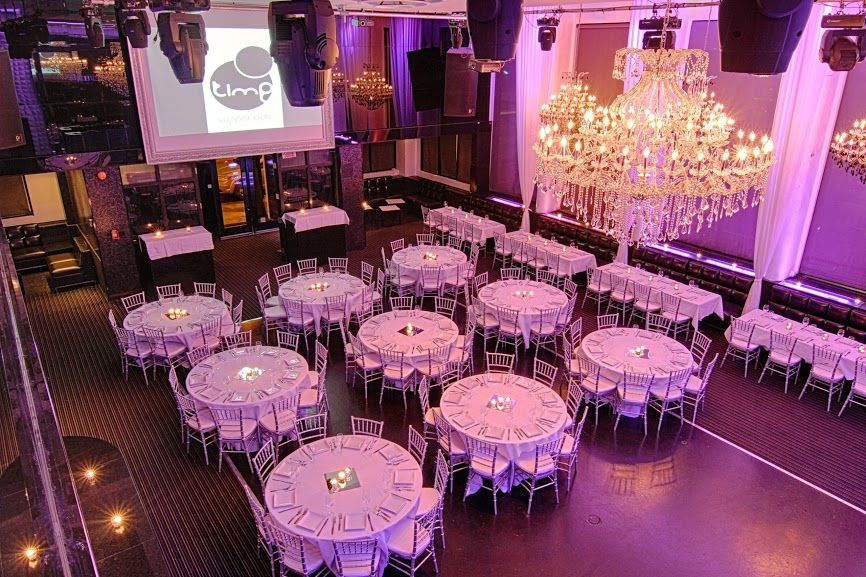 Time Supper Club Montreal Event Venue Wedding Reception
