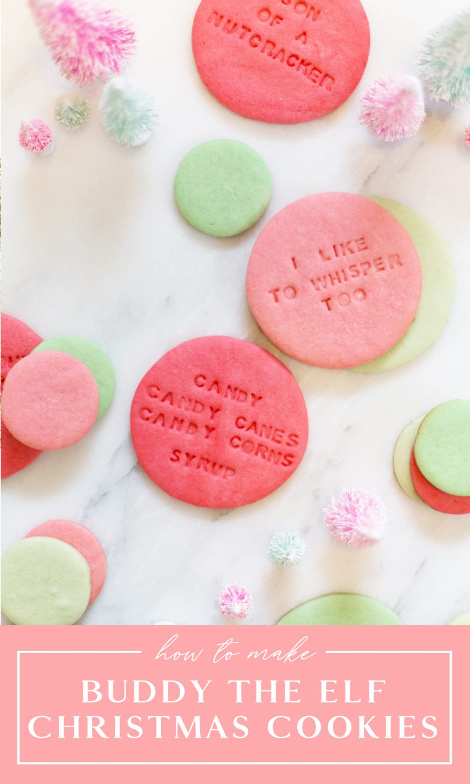 Elf Movie Cookies Easy Recipe From Lovely Indeed Recipe Christmas Quotes Inspirational Christmas Quotes Christmas Quotes Funny