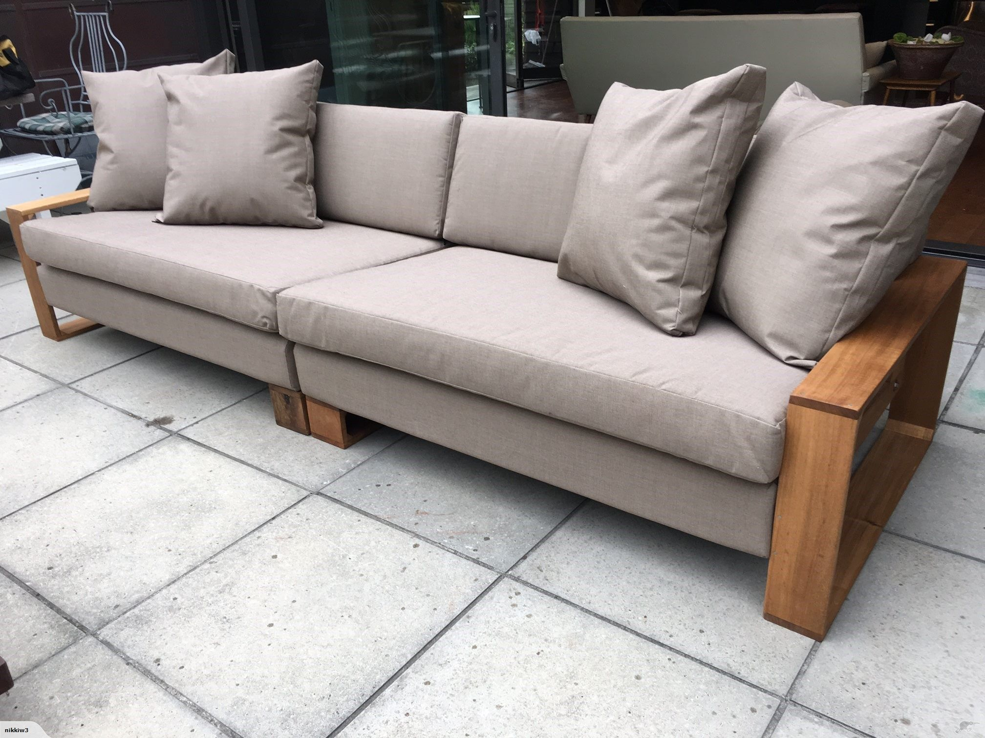 2 x 2.5 seater modular indoor / outdoor couch | trade me