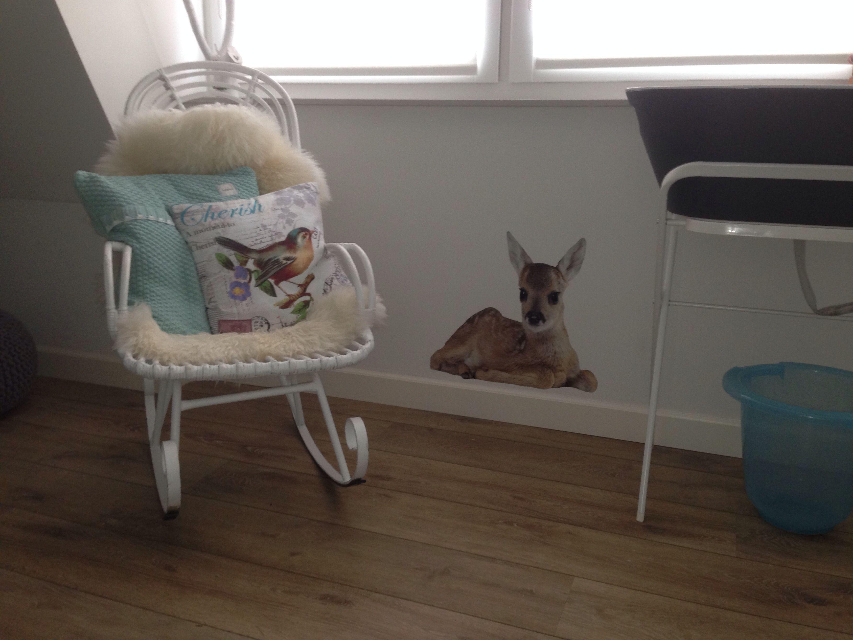 babykamer #mint #muursticker #meisjeskamer #nursery #koeka, Deco ideeën