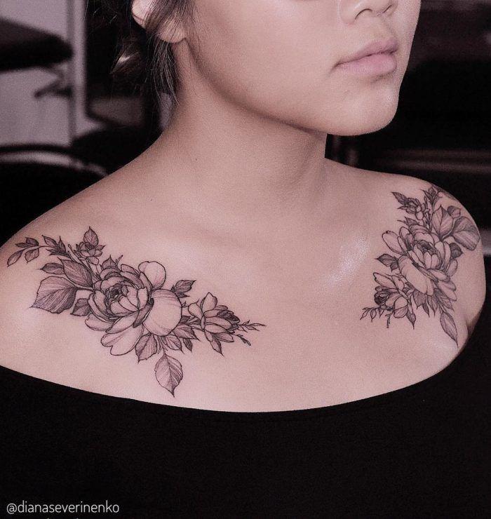 Chest Tattoo Flowers, Flower Tattoo