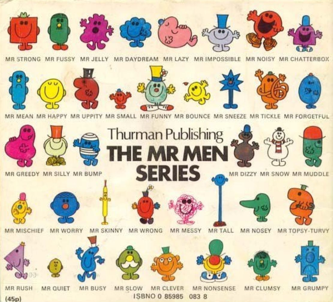 11++ The little miss book collection info