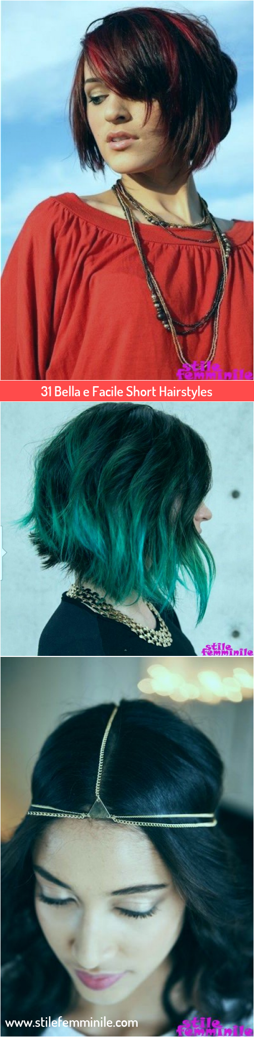 Photo of 31 Bella e Facile Short Hairstyles
