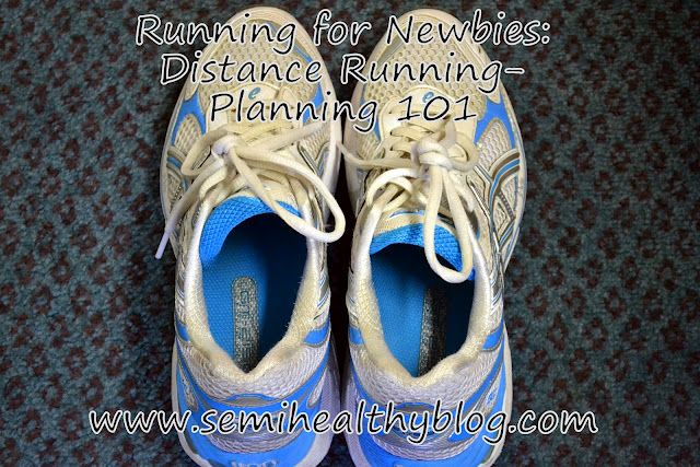 {Running for Newbies} Guest Post: Planning 101