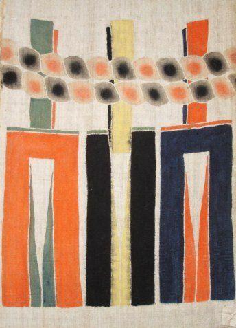 Japanese Antique Textile Nobori With Shimenawa Design