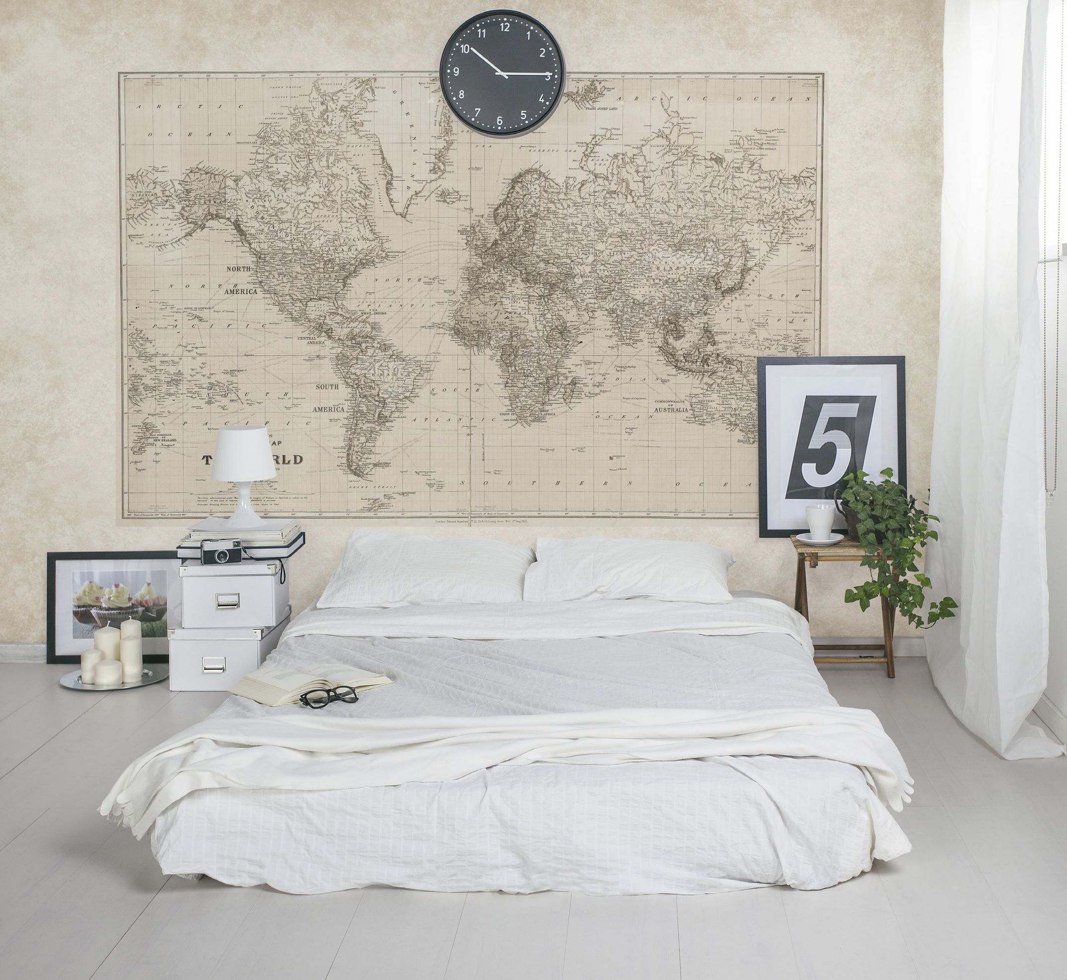 Sepia toned vintage world map mural is great for the studious and sepia toned vintage world map mural is great for the studious and the tasteful and make for hip and trendy interiors vintage world map m9172 hip trendy gumiabroncs Choice Image