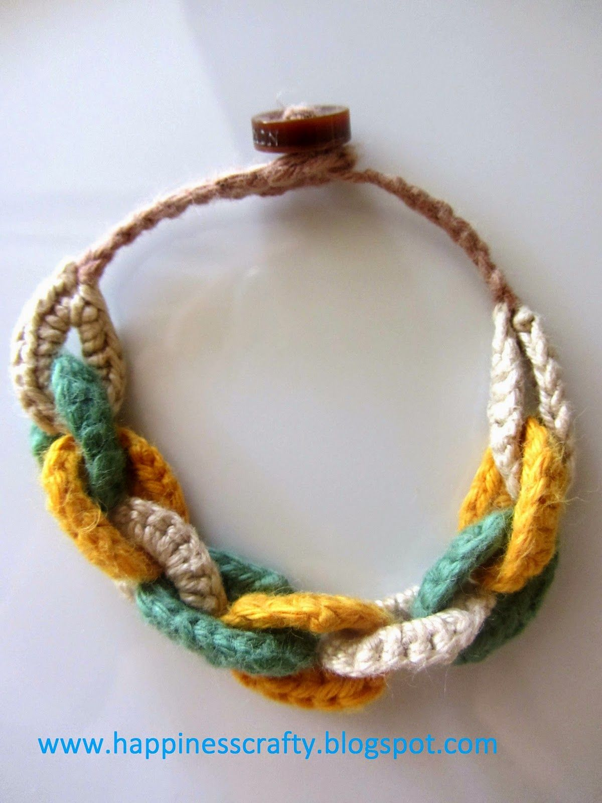 Circles Bracelet ~ Free Crochet Pattern | knit knitty knit knit ...